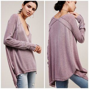 FREE PEOPLE Pacific Oversized Tissue Thin Thermal